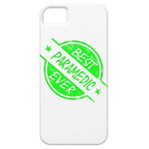 El mejor verde del paramédico nunca iPhone 5 carcasa
