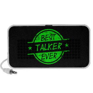 El mejor verde del transmisor nunca sistema altavoz