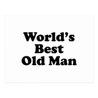 El mejor viejo hombre del mundo postales