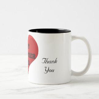 El mejor voluntario le agradece nunca amar la taza