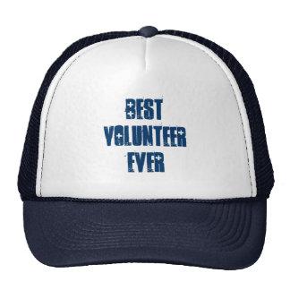 El mejor voluntario nunca o cualquier sentimiento  gorras de camionero
