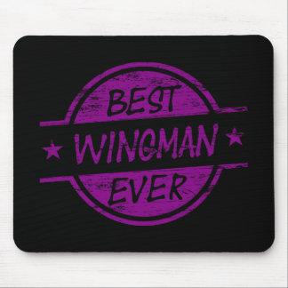 El mejor Wingman siempre púrpura Tapete De Ratón