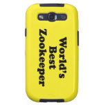 El mejor Zookeeper del mundo Samsung Galaxy S3 Cárcasa