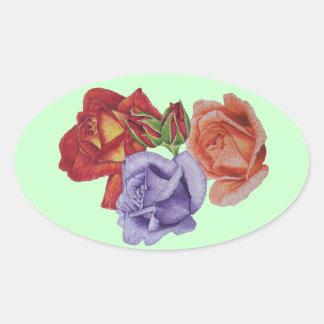 El melocotón del rosa rojo subió arte color de ros