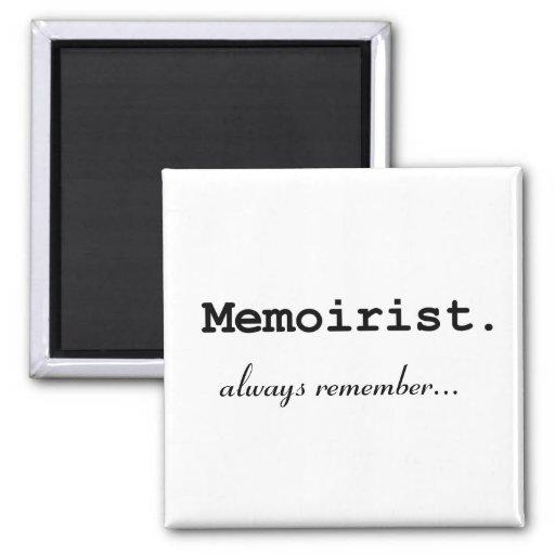 El Memoirist, recuerda siempre - el imán