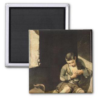 El mendigo joven, c.1650 imán