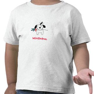 El menear del perrito del muérdago - la camisa del