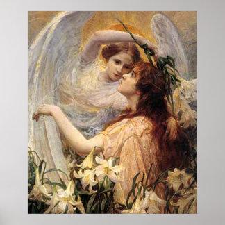 El mensaje de los ángeles póster