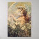 El mensaje del ángel, Swinstead, arte del Victoria Impresiones