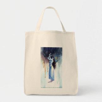 El mensajero bolsa tela para la compra