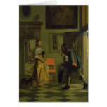 El mensajero, c.1669 tarjetas