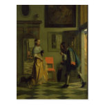 El mensajero, c.1669 tarjetas postales