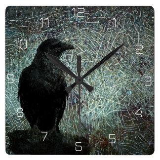 El mensajero reloj cuadrado