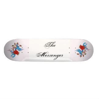 El mensajero skateboard