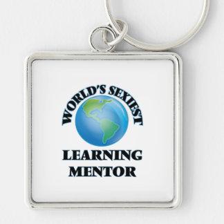 El mentor de aprendizaje más atractivo del mundo llaveros personalizados