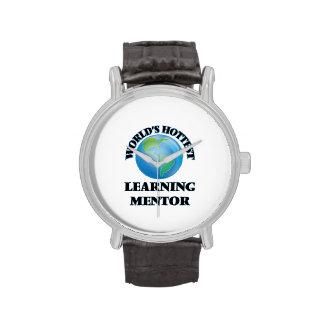 El mentor de aprendizaje más caliente del mundo relojes de mano