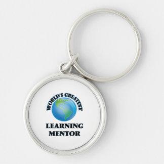 El mentor de aprendizaje más grande del mundo llavero personalizado