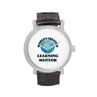 El mentor de aprendizaje más grande del mundo reloj