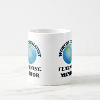 El mentor de aprendizaje más grande del mundo taza de café
