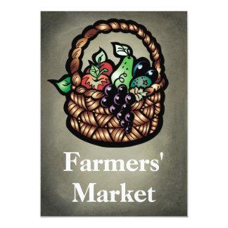 El mercado de los granjeros invitacion personal