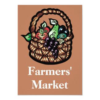 El mercado de los granjeros comunicado personalizado