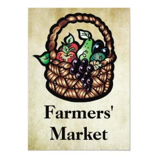 El mercado de los granjeros anuncio