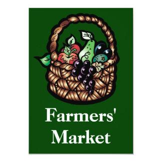 El mercado de los granjeros comunicados personalizados
