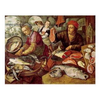 El mercado de pescados postal