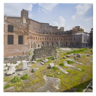 El mercado de Trajan (latín: Mercatus Traiani, 2 Azulejo Cuadrado Grande