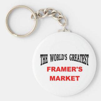 El mercado del granjero llavero