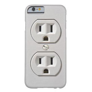 El mercado eléctrico enchufa funda de iPhone 6 slim