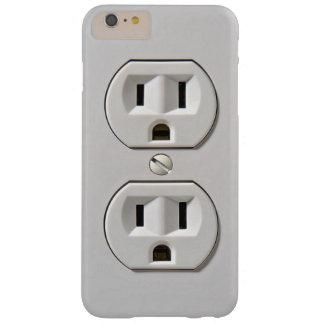 El mercado eléctrico enchufa funda de iPhone 6 plus barely there