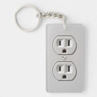 El mercado eléctrico enchufa llavero