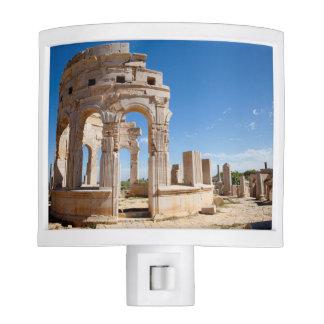 El mercado, Leptis Magna, distrito de Al Khums