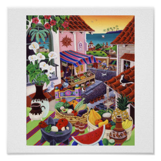 El Mercado Print
