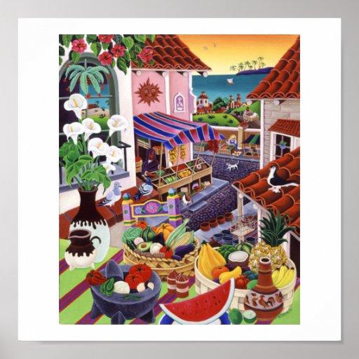 EL Mercado Posters