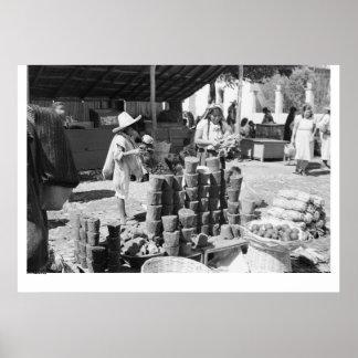 El Mercado, San Cristobal de Las Casas Poster
