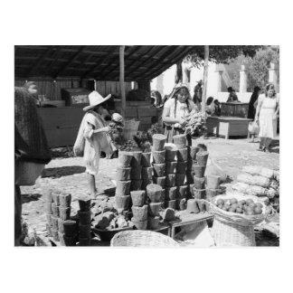 EL Mercado, San Cristobal de Las Casas Tarjeta Postal