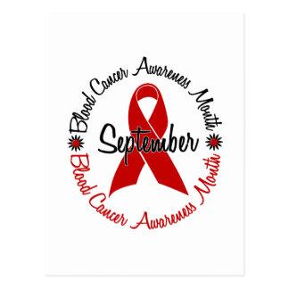 El mes de la conciencia del cáncer de sangre postal