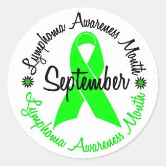 El mes de la conciencia del linfoma florece 3