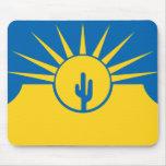 El Mesa, Arizona, Estados Unidos señala por medio  Mousepads