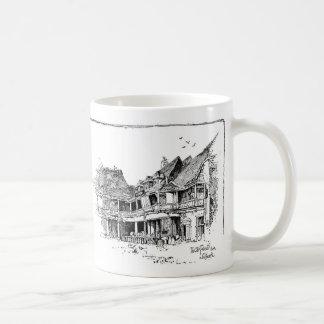 El mesón viejo del tabardo taza clásica