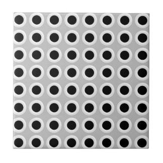 El metal agujerea la parrilla (falsa) azulejo cuadrado pequeño