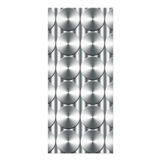 El metal circunda el modelo diseños de tarjetas publicitarias
