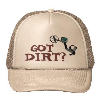 El metal que detecta el gorra guarda una cabeza fr
