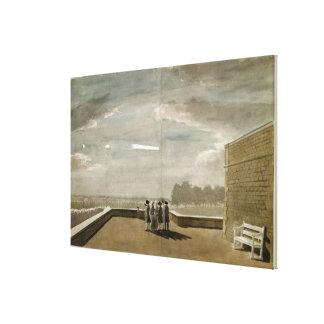 El meteorito del 18 de agosto de 1783, según lo vi impresiones en lienzo estiradas