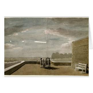 El meteorito del 18 de agosto de 1783, según lo vi tarjeta de felicitación