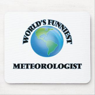 El meteorólogo más divertido del mundo alfombrilla de ratones