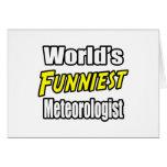 El meteorólogo más divertido del mundo felicitación