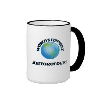 El meteorólogo más divertido del mundo tazas de café